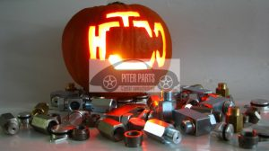 Halloween check engine