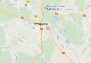 Utrudnienia w Mysłowicach. Zapadnięty jeden pas autostrady A4