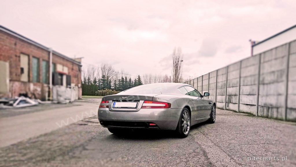 Aston Martin DB9 dystanse do kół