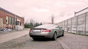 Aston Martin DB9 dystanse do kół