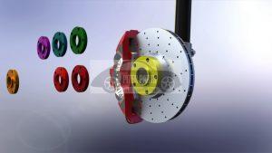 Usługi CNC - Elementy zawieszenia i dystanse